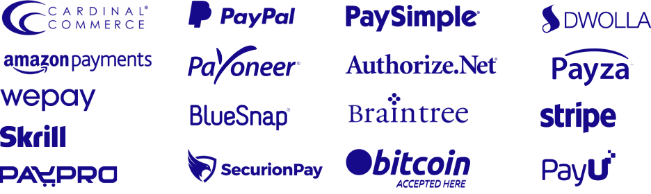 Integrations with Payment Gateways